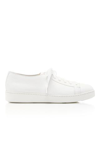 Medium santoni white white sneaker