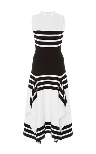 Medium rosetta getty stripe sleeveless striped midi dress