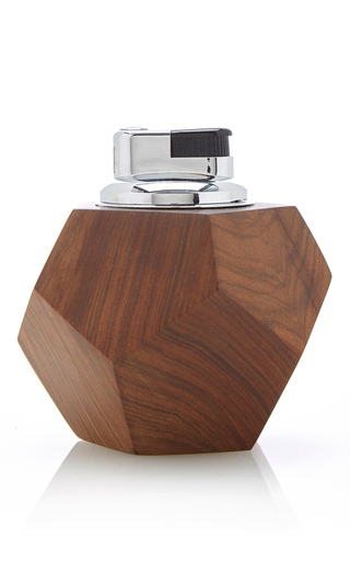 Medium hunting season brown polyhedral table lighter