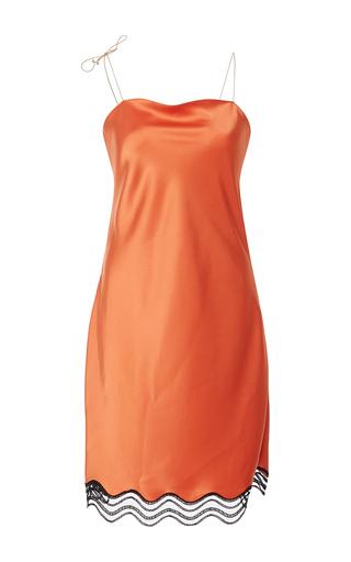 Medium alexis mabille orange orange nuisette slip dress