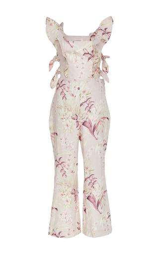 Medium zimmermann floral winsome ruffled jumpsuit