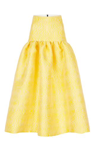 Medium maticevski yellow inauguration full skirt