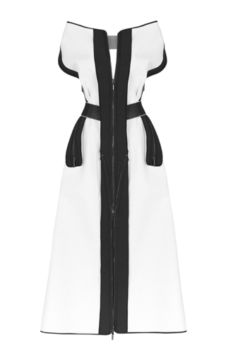 Medium maticevski navy agent dress