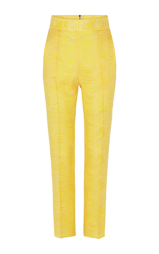 Medium maticevski yellow savage tailored pant 2