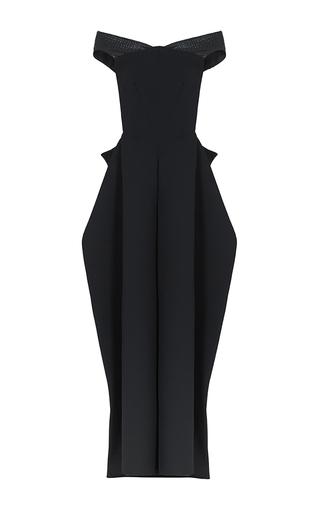 Medium maticevski black century bustier