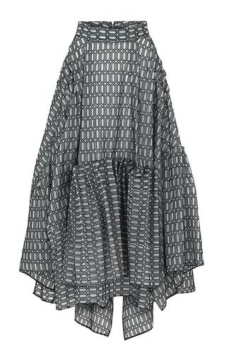 Medium maticevski dark grey alumnus skirt