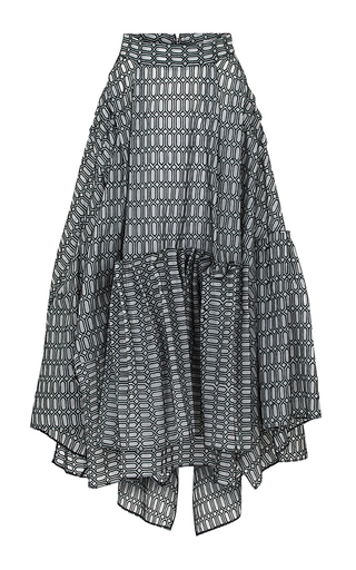 Medium maticevski dark grey alumnus skirt