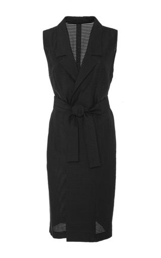 Medium rochelle sara black black stacy long vest