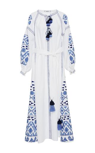 Medium march11 white white kilim midi dress
