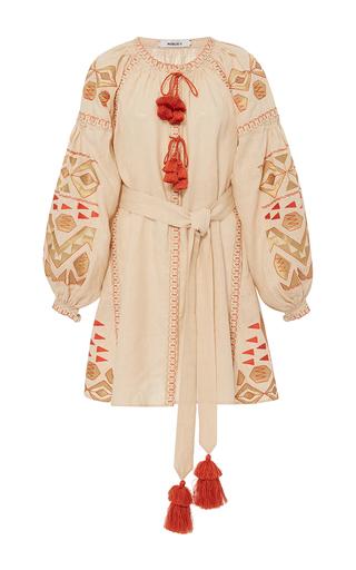 Medium march11 tan beige kilim mini dress