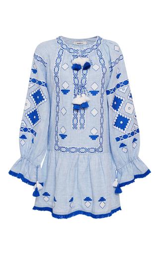 Medium march11 light blue sky sasha mini dress