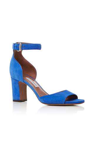 Medium tabitha simmons blue jerry suede sandal