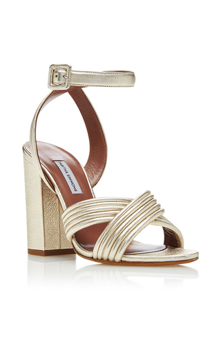 Medium tabitha simmons gold nora sandals