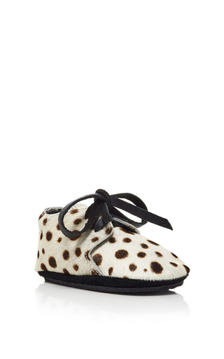 Medium donsje multi safari dalmatian booties