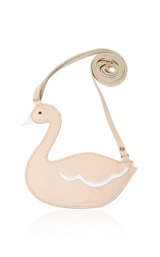 Medium donsje white swan toto bag