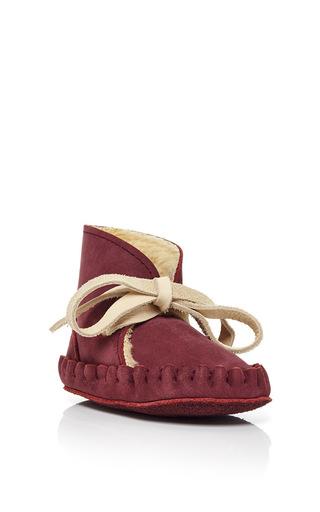 Medium donsje red pina lining shoe