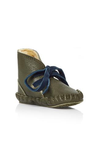 Medium donsje green pina lining shoe