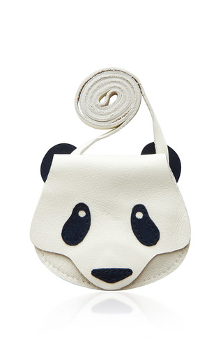 Medium donsje white small panda britta bag