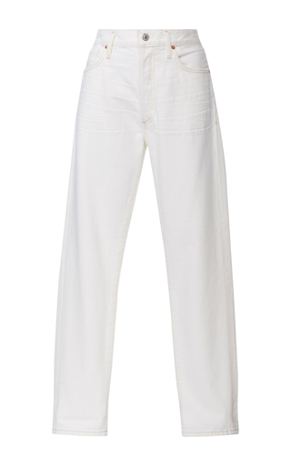 Medium citizens of humanity white liya high rise skinny jeans