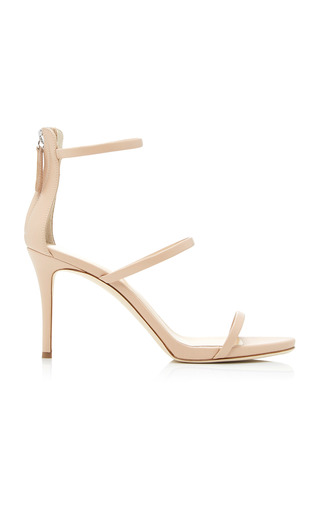 Medium giuseppe zanotti nude alien leather sandals