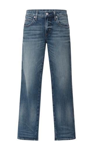 Medium amo  3 dark wash bow cropped jeans