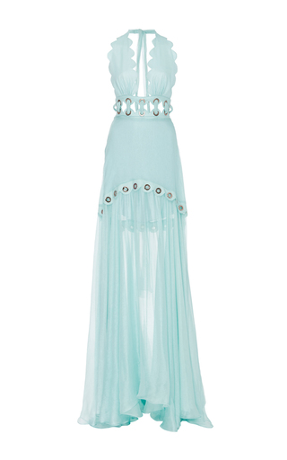 Medium maria lucia hohan turquoise scalloped darma gown