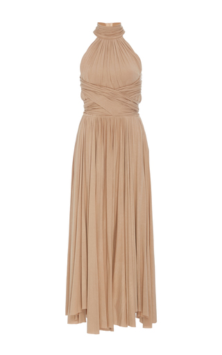 Medium maria lucia hohan nude wrap effect kade dress