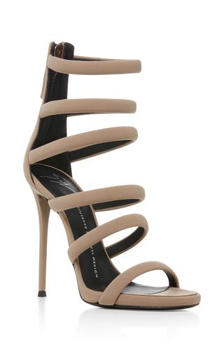 Medium giuseppe zanotti nude banded heel sandal