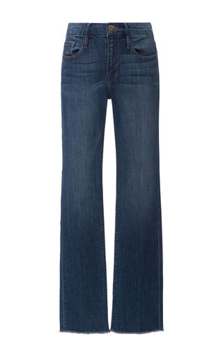 Medium frame denim medium wash le mini mid rise bootcut jean