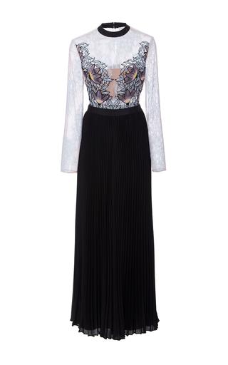 Medium self portrait multi moni lace pleated dress