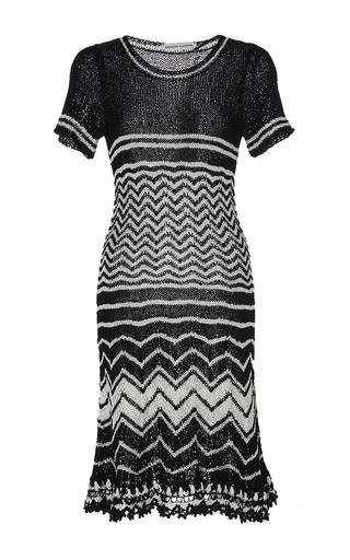 Medium spencer vladimir stripe madison flare mini dress