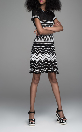 Madison Flare Mini Dress by SPENCER VLADIMIR Now Available on Moda Operandi