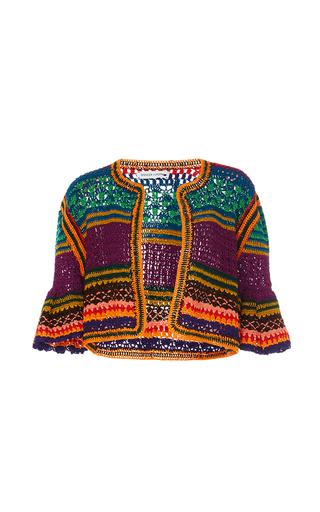 Medium spencer vladimir multi tulum bell crochet cardigan