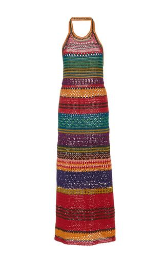 Medium spencer vladimir multi tulum halter dress