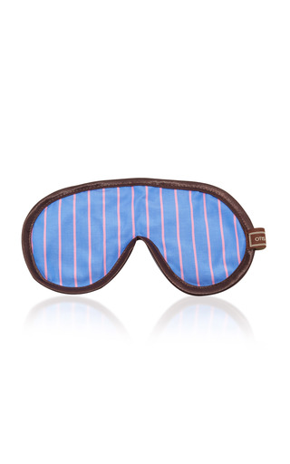 Medium otis batterbee blue pink stripe eye mask