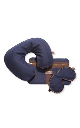 Medium otis batterbee blue denim travel set