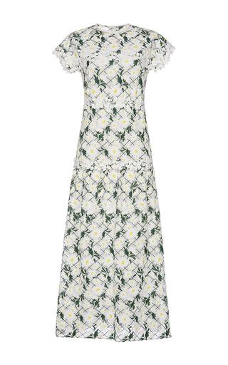 Medium giambattista valli floral short sleeve daisy dress 2
