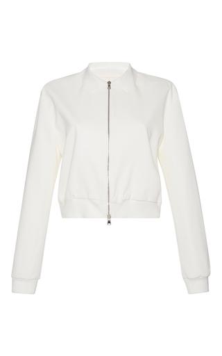 Medium giambattista valli white long sleeve collared jacket 2