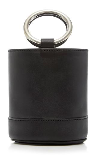 Medium simon miller black small bonsai bucket bag