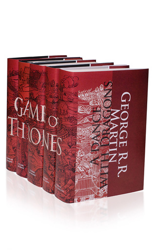 Medium juniper books red game of thrones set