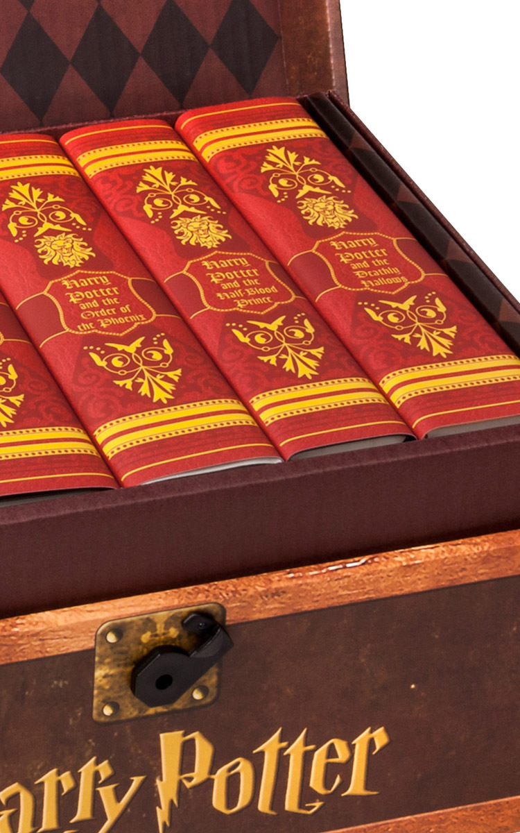 Harry Potter Book Set Special Edition : Limited edition harry potter trunk set by juniper moda