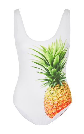 Medium onia print kelly pineapple one piece