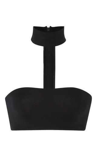 Medium onia black laura choker bikini top