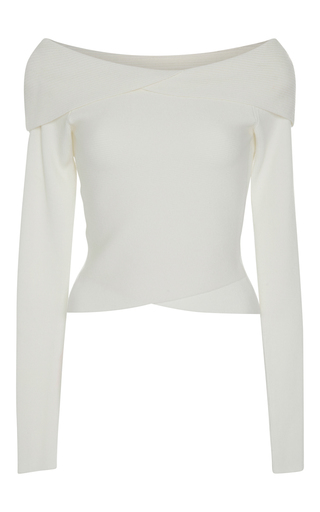 Medium a l c white rayne off the shoulder top