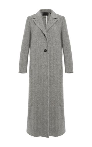 Medium isabel marant light grey duard long coat