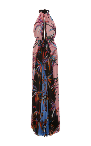 Medium emilio pucci print halter maxi dress
