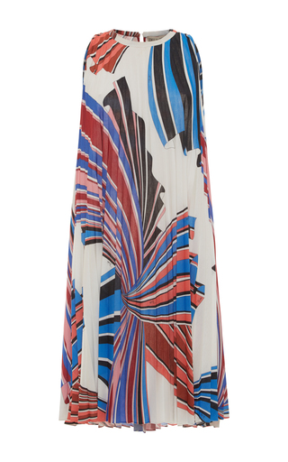 Medium emilio pucci print accordion mini dress