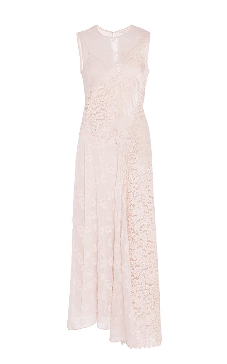 Swing Lace Midi Dress