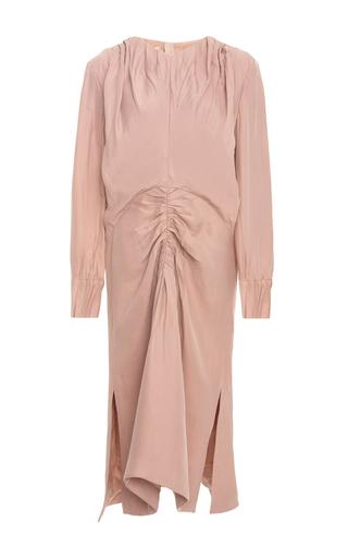 Medium marni pink ruched dress