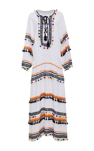 Medium dodo bar or white yehoray lace up maxi dress